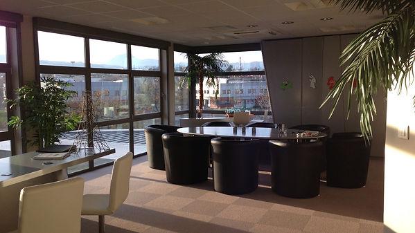 Aménagement et décoration salle de réunion
