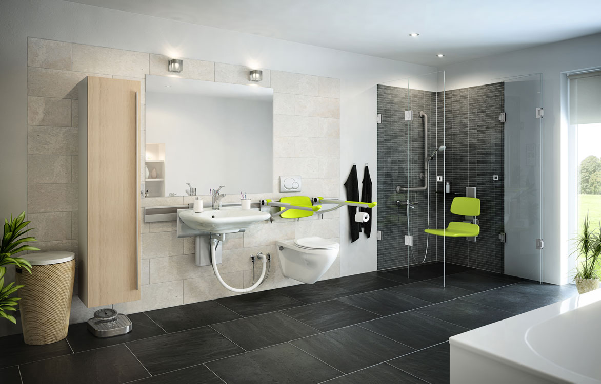 modren handicapped bathroom design friendly ideas for disabled people handicap cleaning glass shower doors and door to. beautiful ideas. Home Design Ideas