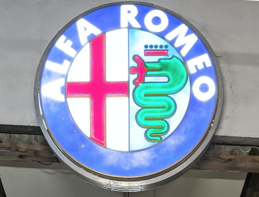Enseigne Alfa Romeo 3