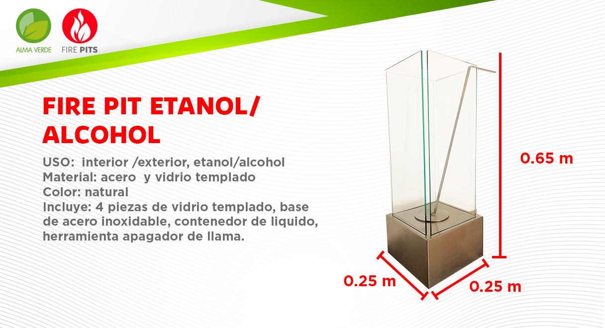 Fire Pit Etanol/Alcohol