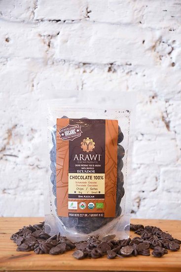 Arawi bio chocoladechips 100%