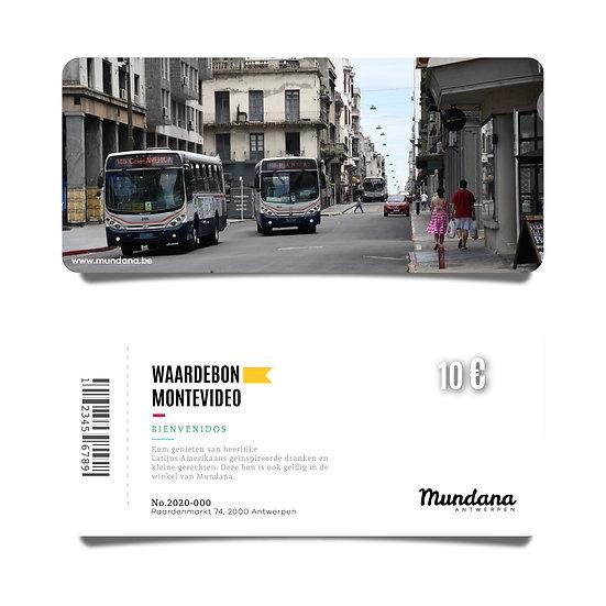 Waardebon Montevideo