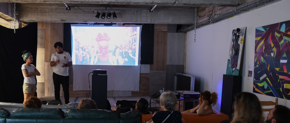 Opening in L'uZinne, Brussels - Juli/2019