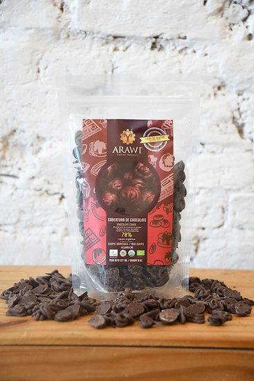 Arawi bio chocoladechips 70%