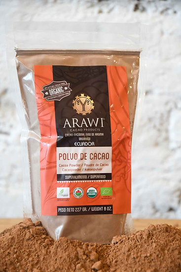 Arawi, bio cacaopoeder