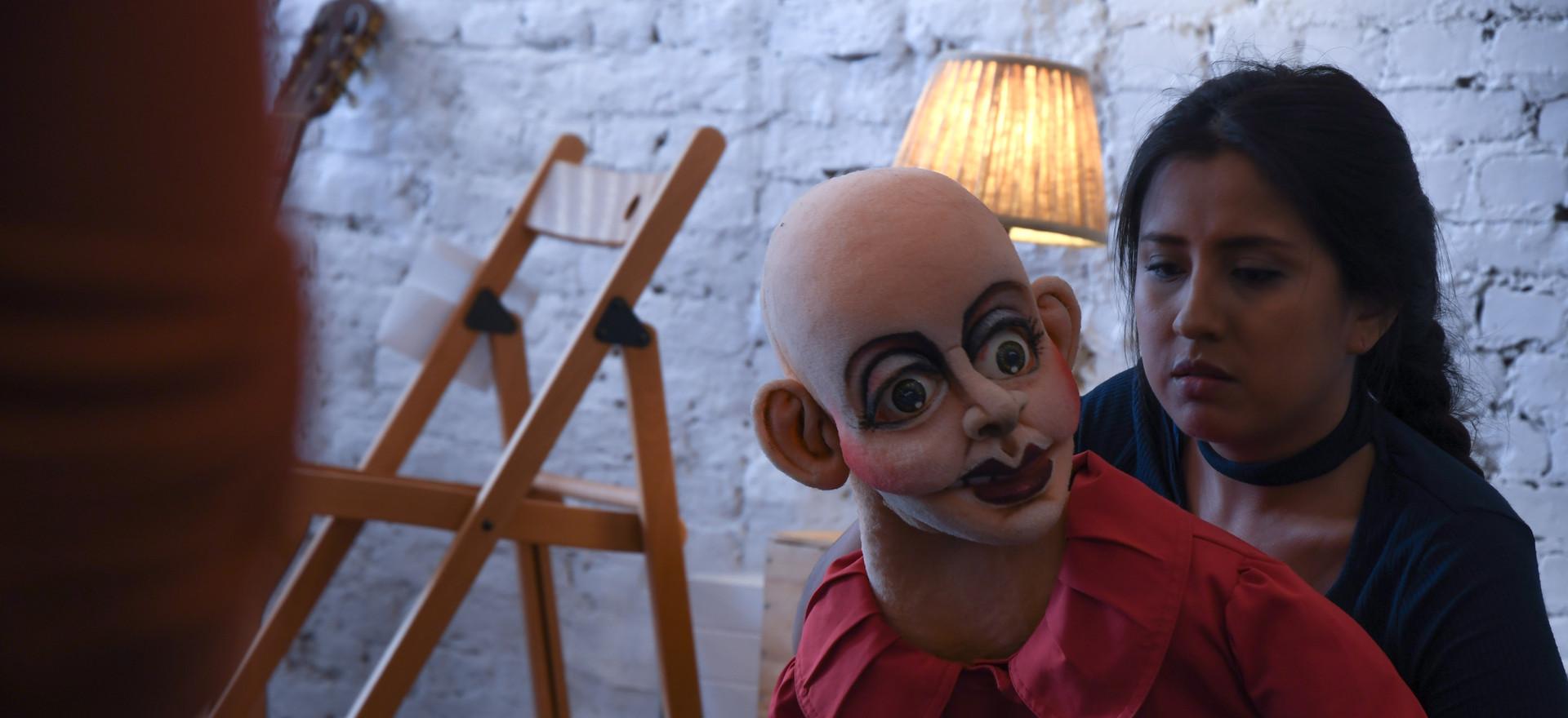 De theatergroep 'Teatro Caminante' uit Ecuador