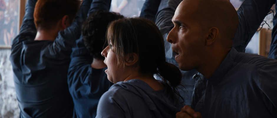 De theatergroep 'Ópera Irreverente' uit Mexico