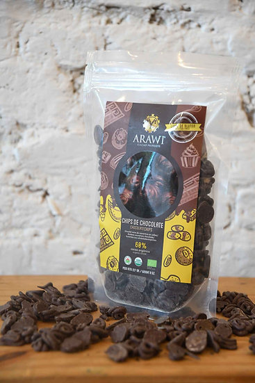 Arawi bio chocoladechips 60%