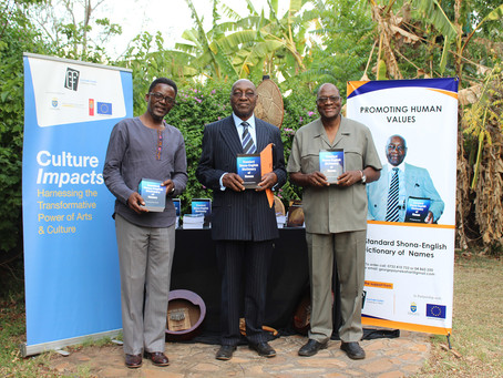 New Culture Fund Board Chair Officiates Professor Kahari's Book Launch