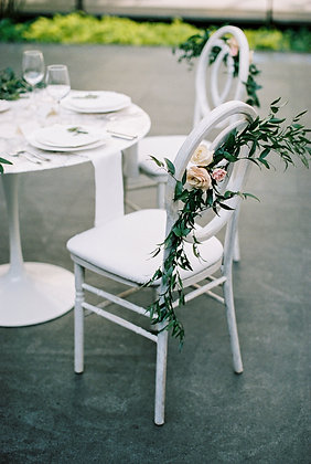 Infinity White Washed Chair