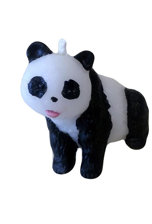 Panda Candle