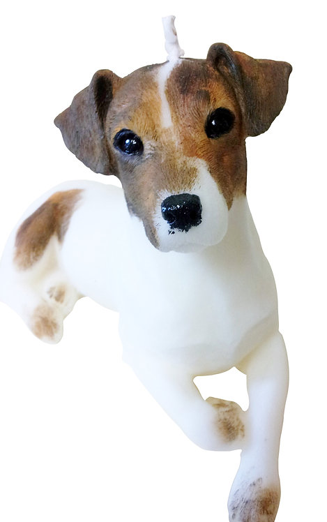 Jack Russell Candle