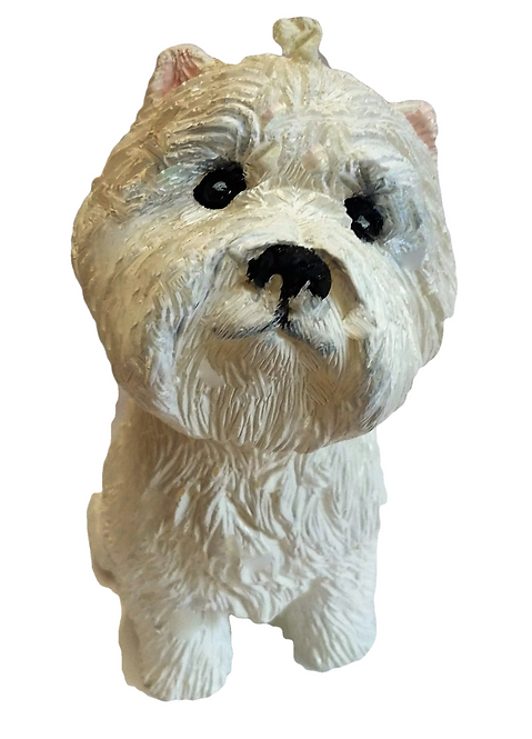 West Highland Terrier Candle