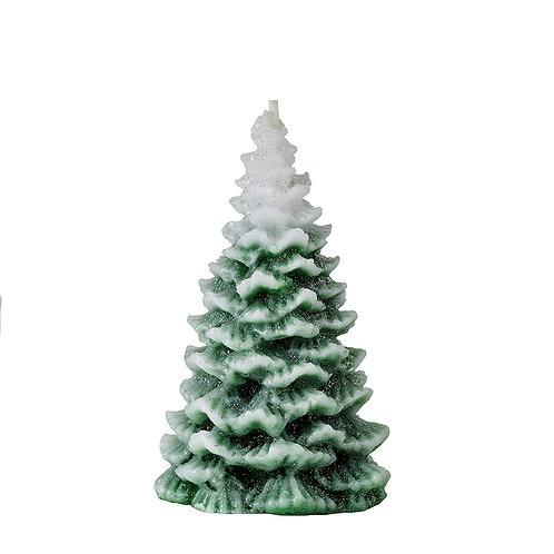 Snow Capped Christmas Tree
