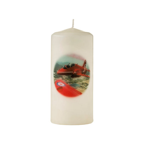 The Red Arrow in Flight -  Candle