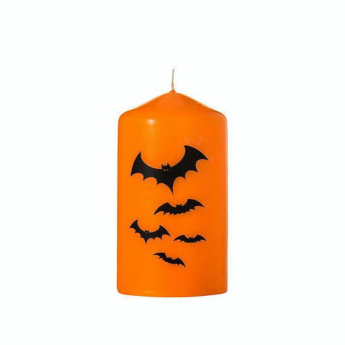 Halloween Bats Candle - Scented