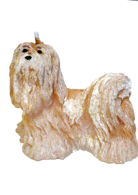 Lhasa Apso Candle