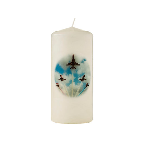 The Red Arrows in Display Candle