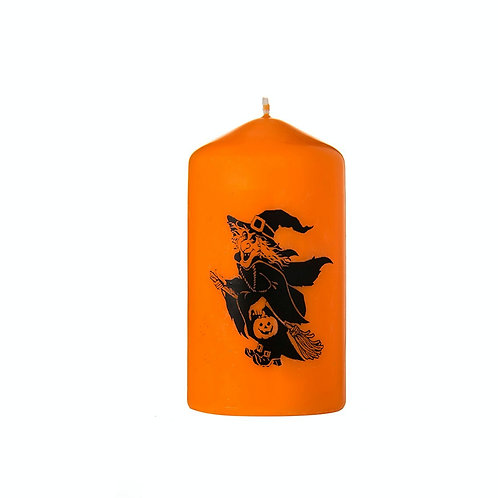 Halloween Witch Candle - Scented