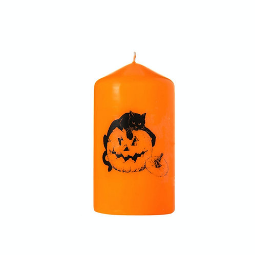 Halloween Cat Candle - Scented