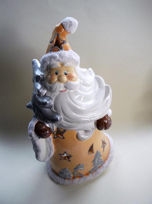 Ceramic Santa Tealight Holder