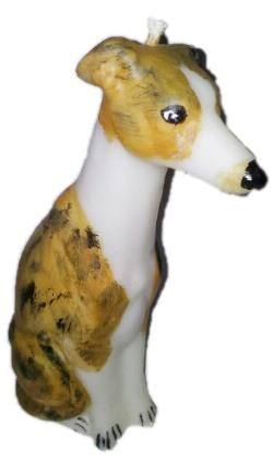 Whippet Candle