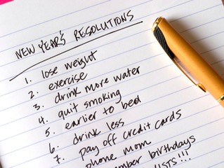 Do your 2014 Resolutions look a lot like your 2013 Resolutions?