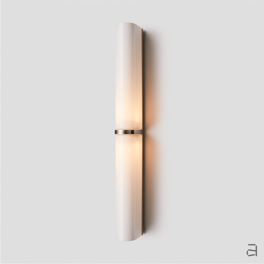 Slim Double Wall Sconce