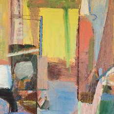 BREEKWERK_oil paint and oil crayon on ca