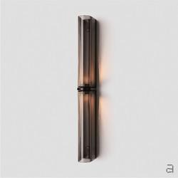 Slim Wall Sconce - Mid Bronze - Grey