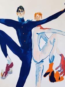 the bad ballet_mixed media on paper_150 x 125cm.jpg