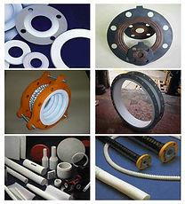 Tarugos em PTFE - Películas em PTFE  Placas em PTFE - Buchas em PTFE  Conexões em PTFE - Usinagem de Plásticos