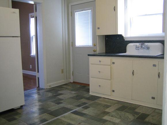 Apt #1 Kitchen-flooring replaced