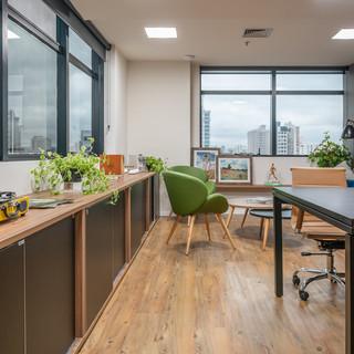 Vista sala de Reunião