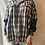 Thumbnail: Winter '21 Flannel | Acid Washed Sweatshirt Sleeves | Large