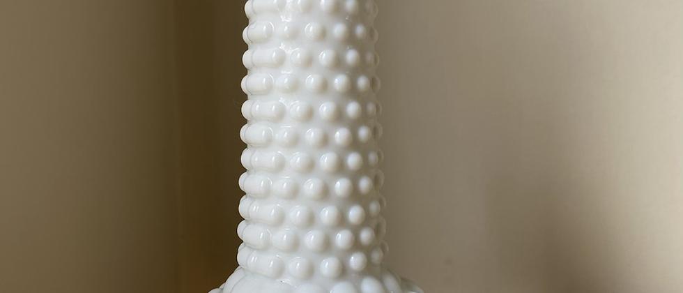 Unnew Milk Glass Vase   Medium