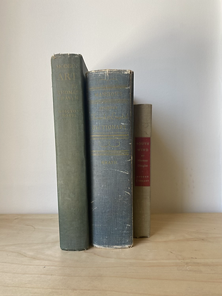 Vintage Decorative Books | Set of 3