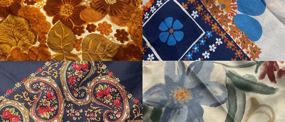 Scarf Halters | Fall Floral Batch