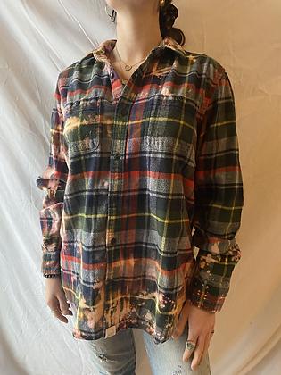 Winter '21 Acid Washed Flannel | Large