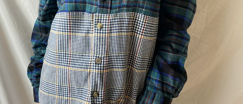 Winter '21 Mismatched Flannel   Small