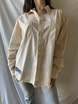 Spring '21 Seaweed Dyed Button Up | Large