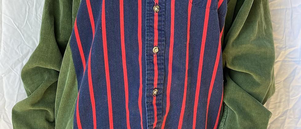 Spring '21 Mismatched Button Up | Medium