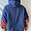 Thumbnail: Winter '21 Patriots Sweatshirt Acid Washed Flannel Sleeves | One Size