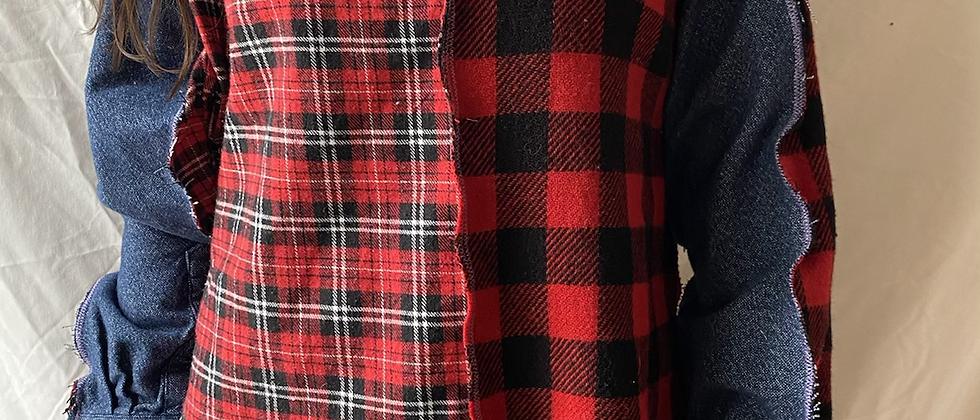 Winter '21 Flannel Shirt   Exposed Seams   Medium