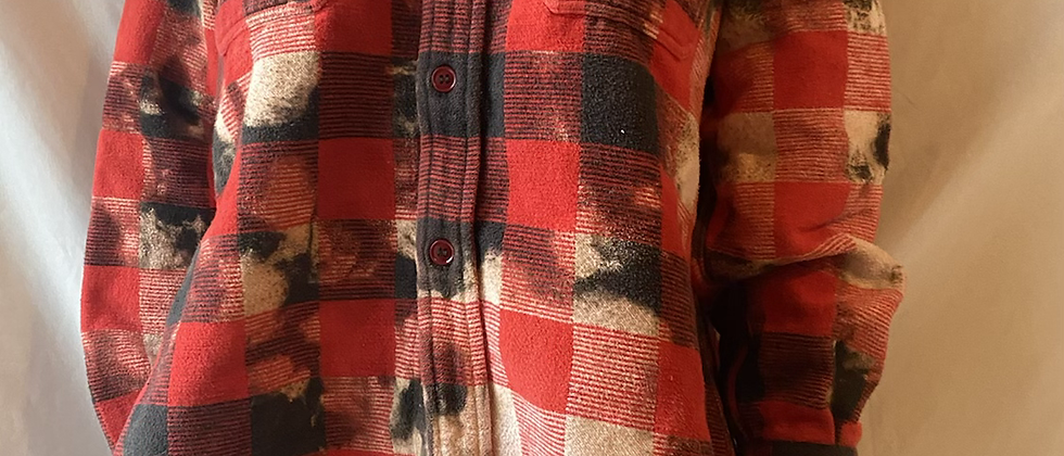 Winter '21 Acid Washed Flannel   Small