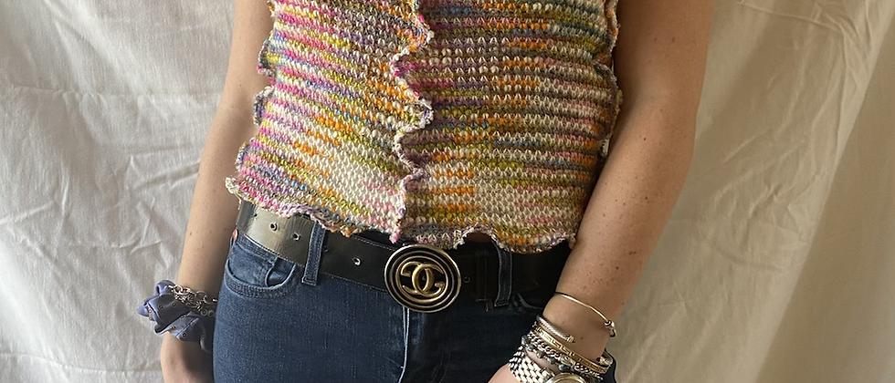 Spring '21 Halter | 1970's Fabric | Small / Medium