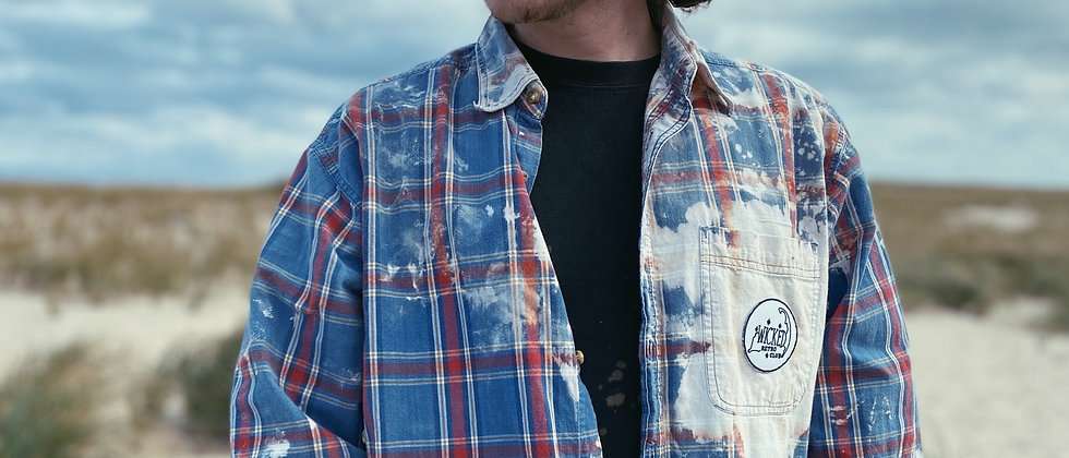 Fall 2020 Acid Washed Button Up