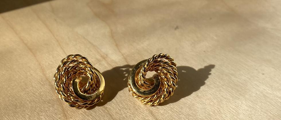 Vintage Earrings | Clip On