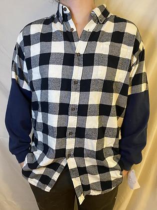 Winter '21 Flannel | Sweatshirt Sleeves | Large
