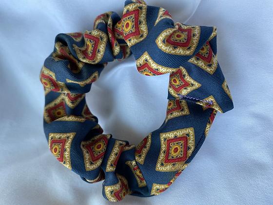 Winter '21 Silk Necktie Scrunchie